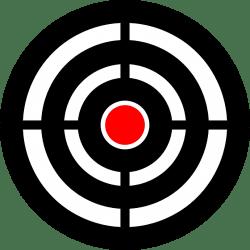 bull's eye target