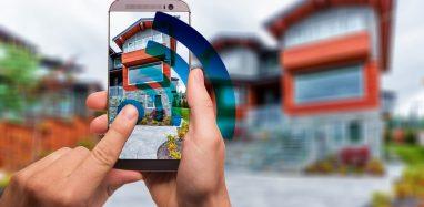 smartphone remote control access to home