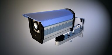 high tech security camera